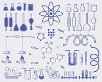 Chemistry subjects Stock Photo