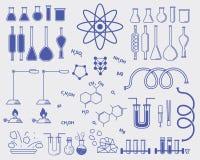 Chemistry subjects Stock Photo