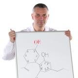 Chemistry teacher Royalty Free Stock Image