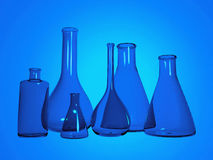 Chemistry test tubes Royalty Free Stock Images