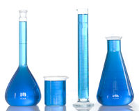 Chemistry tools Royalty Free Stock Photo
