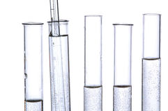 Chemistry tube Stock Images
