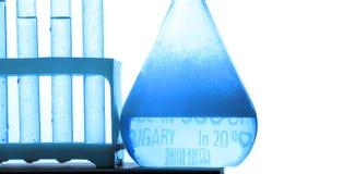Chemistry tube Stock Image