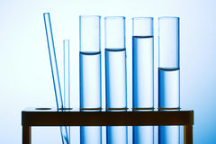 Chemistry tubes Royalty Free Stock Image