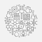 Chemistry vector illustration Stock Images