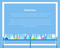 Chemistry Web Banner with Place for Text Vector Stock Image