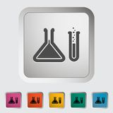Chemisty icon Stock Photography
