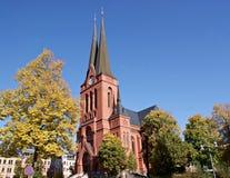 chemnitz教会德国标记s st 免版税库存照片