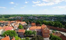 CheÅmno in Polen Stockbild