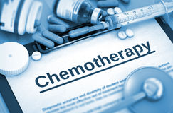 Chemotherapy Diagnosis. Medical Concept. Royalty Free Stock Images
