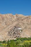 Chemrey修道院在Leh拉达克,印度 免版税库存照片