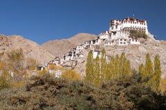 Монастырь Chemrey, Ladakh, Индия Стоковые Фотографии RF