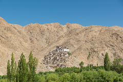 Chemrey Monastery in Leh Ladakh,India. Chemrey Monastery or Chemrey Gompa is a 1664 Buddhist monastery, approximately 40 kilometres (25 mi) east of Leh, Ladakh Royalty Free Stock Photos