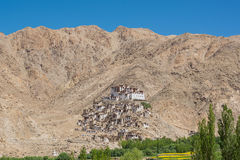 Chemrey Monastery in Leh Ladakh,India. Chemrey Monastery or Chemrey Gompa is a 1664 Buddhist monastery, approximately 40 kilometres (25 mi) east of Leh, Ladakh Royalty Free Stock Image