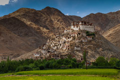 Chemreyklooster in Ladakh India Stock Foto's