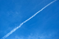 Chemtrails Royalty Free Stock Photo