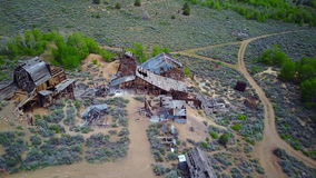Chemung Ghost Mine/Mill stock footage