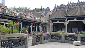 The Chen Clan Academy. Locally known as the Chen Ancestral Hall, was built on donation from the Chen lineages in Guangdong province in the 20th year of Guangxu royalty free stock images