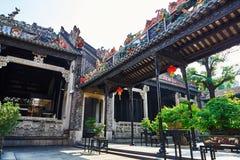 Chen Clan Ancestral Hall Fotografia Stock Libera da Diritti
