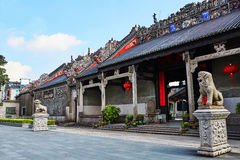 Chen Clan Ancestral Hall Immagine Stock Libera da Diritti