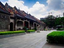 Chen-jia-ci, ancestral hall of Chen clan academy, CIRCA August 2. 017, Guangzhou, CHINA stock photo