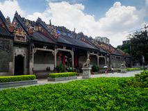 Chen-jia-ci, ancestral hall of Chen clan academy, CIRCA August 2. 017, Guangzhou, CHINA stock photography