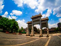 Chen-jia-ci, ancestral hall of Chen clan academy, CIRCA August 2. 017, Guangzhou, CHINA stock images