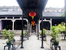 Chen-jia-ci, ancestral hall of Chen clan academy, CIRCA August 2. 017, Guangzhou, CHINA royalty free stock photos