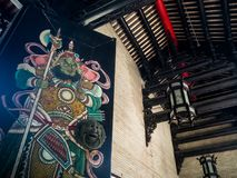 Chen-jia-ci, ancestral hall of Chen clan academy, CIRCA August 2. 017, Guangzhou, CHINA stock photos