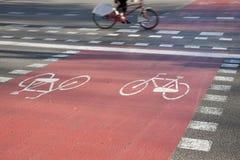 Chen Sie Weg einen Kreislauf durchma Lizenzfreie Stockfotografie