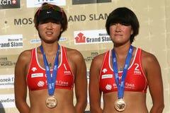 Chen Xue e Zhang Xi Fotografia de Stock Royalty Free