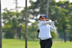 Chen Yu Ju de Taipei en el amo 2017 del PTT Tailandia LPGA Fotografía de archivo libre de regalías
