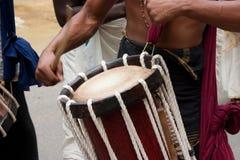 Chenda Drummer Stock Photography