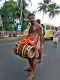 Chenda melam @ Temple festival occation Royalty Free Stock Image