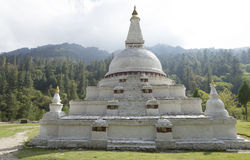 Chendebji Chorten Royalty Free Stock Images