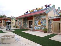 Chenese świątyni tradycyjna Buddyjska świątynia obraz royalty free