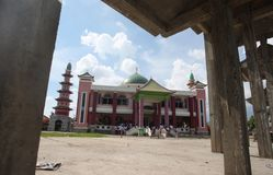 Cheng ho mosque Royalty Free Stock Image