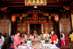 The Cheng Hoon Teng temple Stock Photo