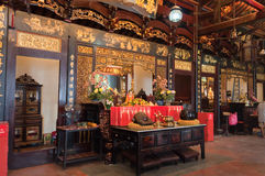 Cheng Hoon Teng Temple Royalty Free Stock Images