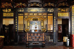 Cheng Hoon Teng Temple in Melaka malaysia fotografie stock