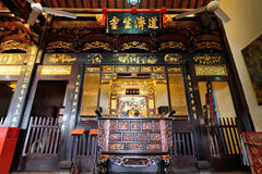 Cheng Hoon Teng Temple in Melaka maleisië stock foto's