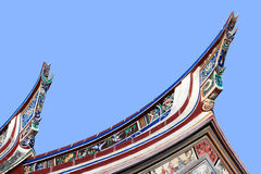 Cheng Hoon Teng temple roof, M Stock Photos
