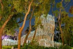 Cheng Loong Paper Pavilion do mundo Flora Exposition de Taichung imagens de stock royalty free