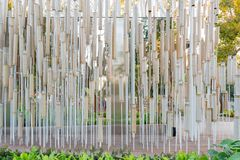 Cheng Loong Paper Pavilion van Taichung-Wereld Flora Exposition stock afbeelding