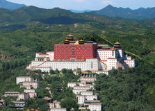 Chengde的小的Potala宫殿 免版税图库摄影