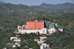 Chengde bergsemesterort Arkivbild