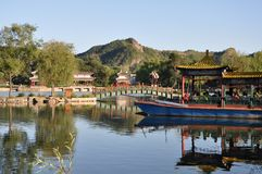 Chengde bergsemesterort Royaltyfri Bild
