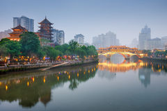 chengdu Κίνα στοκ εικόνες με δικαίωμα ελεύθερης χρήσης