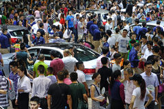 17. Chengdu-Autoausstellung Stockfotografie