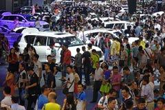 17. Chengdu-Autoausstellung Lizenzfreie Stockfotos